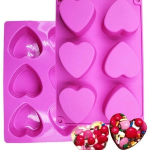 Silicone Heart 💕 Mold Plus More